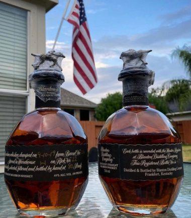 Blanton's bourbon black label