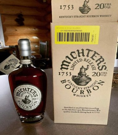 Michter's 20 Year Bourbon For Sale
