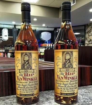 Old Rip Van Winkle 10 Year Bourbon